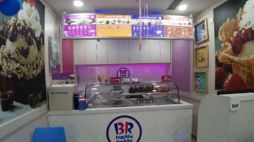 Baskin Robbins franchise outlet for sale in Noida