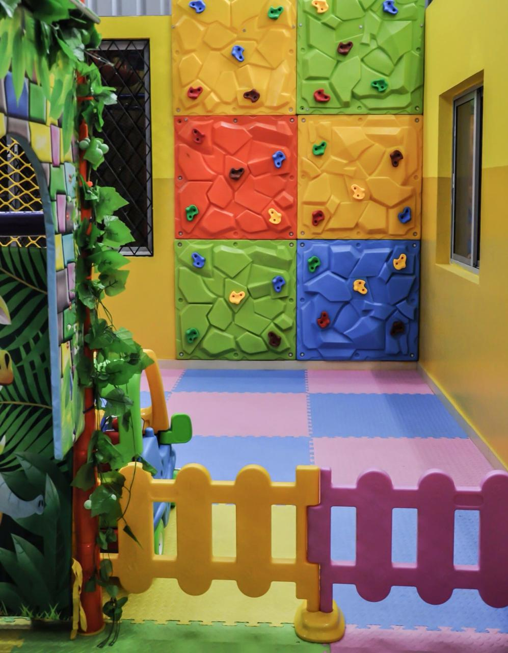 Kids entertainment zones