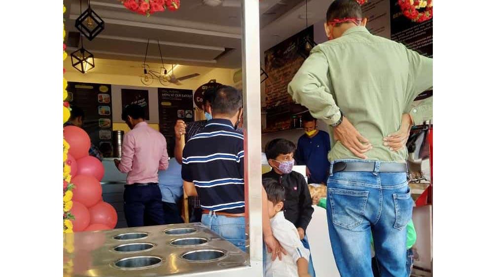 Seeking buyers for veg restaurant
